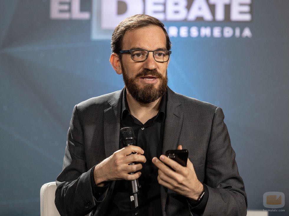 César González Anton, co-director de 'El debate' de Atresmedia