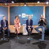 Santiago González, Ana Pastor, Vicente Vallés y Cesar González, presentan 'El debate' de Atresmedia