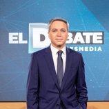 Vicente Vallés, moderador de 'El debate' de Atresmedia