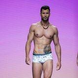Jorge Pérez desfila con bañador en Gran Canaria Moda Cálida