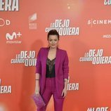 Adriana Torrebejano, en la premiere de