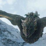 Jon Nieve monta a Rhaegal en el 8x01 de 'Juego de Tronos'