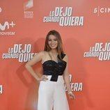 """Carlota Boza en el photocall de la premiere de """"Lo dejo cuando quiera"""""""