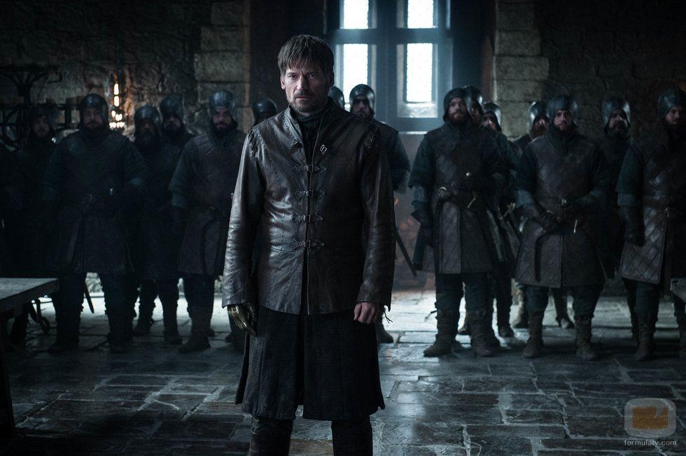 Jaime Lannister permanece en Invernalia en el 8x02 de 'Juego de Tronos'