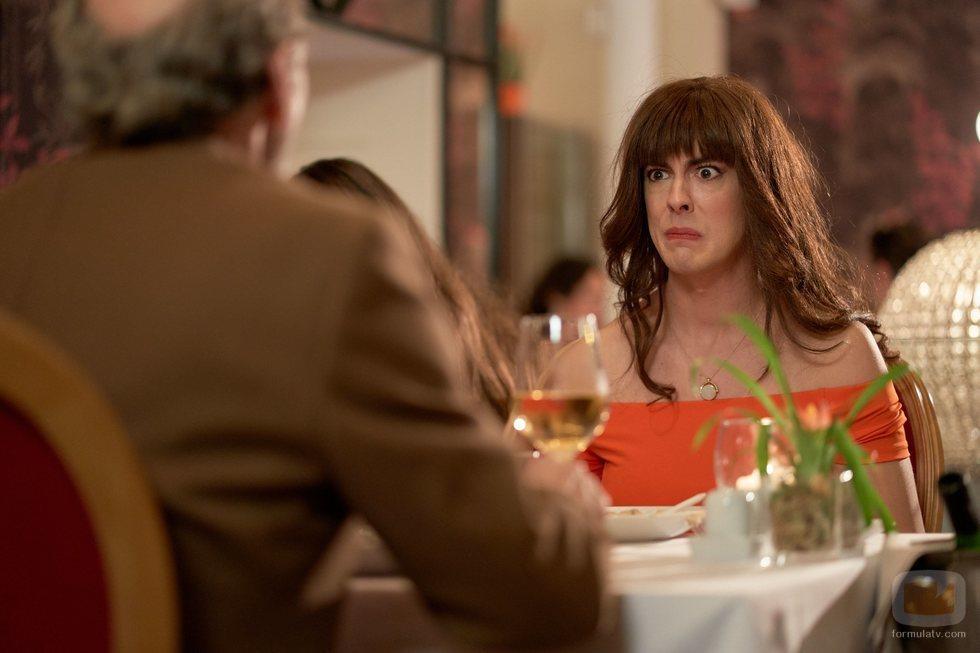 Alba muestra su desagrado en el 11x01 de 'La que se avecina'