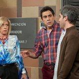 Amador Rivas y Maite Figueroa charlan con Teodoro en el 11x01 de 'La que se avecina'