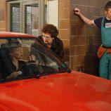 Izaskun y Mari Tere se van en el coche en 'LQSA'