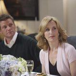 Linette Scavo en 'Mujeres desesperadas' junto a su marido