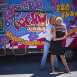 Pocholo y Arancha Bonete, presentadores de 'Pocholo 07'