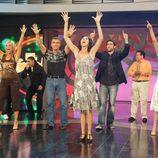 Paz Padilla en 'El gong show'
