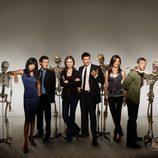 Foto promocional de la cuarta temporada de 'Bones'