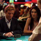 Simon Baker en un casino