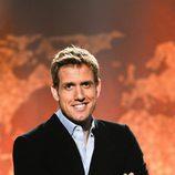 Óscar Martínez, presentador de 'La vuelta al mundo en directo'