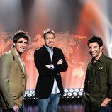 Los presentadores de 'La vuelta al mundo en directo'