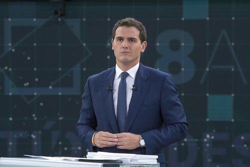 Albert Rivera, en 'El debate en RTVE'