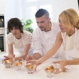 Paz Vega cocina a su paso por 'Cena con mamá'