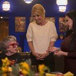Cayetana Guillén Cuervo charla con Alaska y América en 'Cena con mamá'