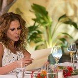 Pastora Soler durante su paso por 'Cena con mamá'