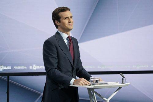 Pablo Casado, en 'El debate decisivo'