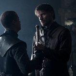 Gusano Gris y Jaime Lannister en el 8x02 de 'Juego de Tronos'