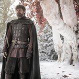 Nikolaj Coster-Waldau como Jaime Lannister en el 8x02 de 'Juego de Tronos'