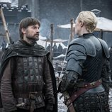 Jaime y Brienne se reencuentran en Invernalia durante el 8x02 de 'Juego de Tronos'