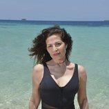 Encarna Salazar, concursante oficial de 'Supervivientes 2019', posa en bañador