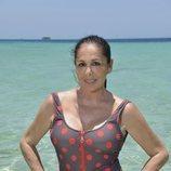 Isabel Pantoja, concursante de 'Supervivientes 2019', posa en bañador
