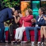 Kiko Rivera besa a su hermana Chabelita, en la Gala 1 de 'Supervivientes 2019'