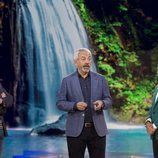 Los presentadores en la Gala 1 de 'Supervivientes 2019'
