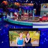 El plató vive el reencuentro entre Chelo García Cortés e Isabel Pantoja en la Gala 1 de 'Supervivientes 2019'