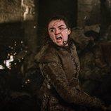 Arya lucha ferozmente durante el 8x03 de 'Juego de Tronos'