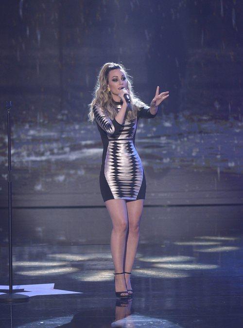 "Edurne interpreta su single ""Demasiado tarde"" en la final de 'Got Talent España'"
