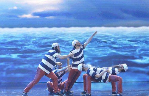 El grupo Art Gee apuestan por un número marinero en la final de 'Got Talent España'