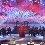 Cyntia sorprendió con su lírico en la final de 'Got Talent España'