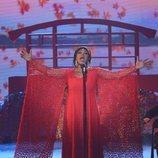 La finalista Cyntia emocionó al jurado con su actuación en la final de 'Got Talent España'