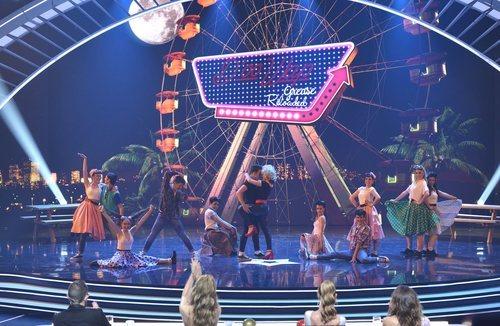 D'oo Wap en su actuación en la final de 'Got Talent España'