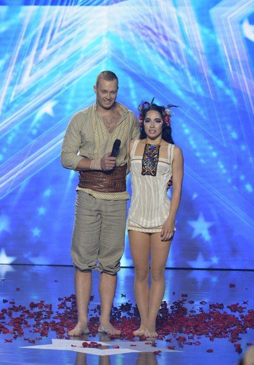 Duo Flame, tras su actuación en la final de 'Got Talent España'