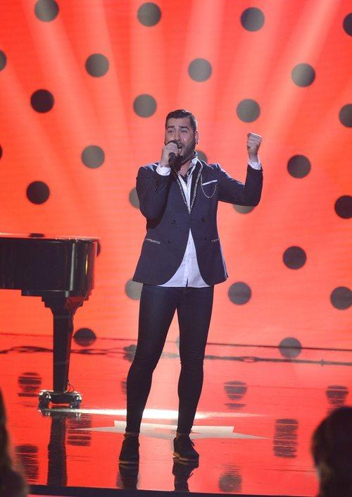 Juan San Juan sorprende en la final de 'Got Talent España'