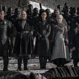 La corte de Daenerys Targaryen despide a sus guerreros muertos en el 8x04 de 'Juego de Tronos'