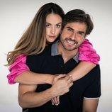 Zuria Vega y Daniel Arenas, posan juntos para 'Mi marido tiene más familia'