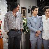 Polita, Pancho y Aristemo en 'Mi marido tiene más familia'