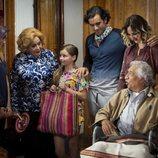 Imelda Sierra de Córcega junto a su familia en 'Mi marido tiene más familia'