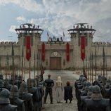 Gusano Gris, Daenerys y Tyrion en Desembarco del Rey durante el 8x04 de 'Juego de tronos'
