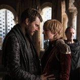 Euron Greyjoy y Cersei Lannister en el 8x04 de 'Juego de tronos'