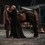 Jamie y Brienne en el 8x04 de 'Juego de tronos'