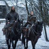 El Perro y Arya se marchan en el 8x04 de 'Juego de tronos'