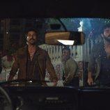 Álvaro Cervantes, Jesús Castro, Miki Esparbé y Hugo Silva, en 'Brigada Costa del Sol'