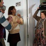Fina amenaza a sus vecinos con un portátil en la temporada 11 de 'La que se avecina'