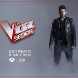 Pablo López posa para esta promoción de 'La Voz Senior'